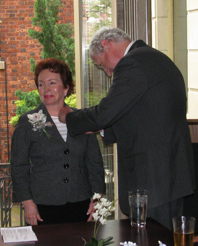 Joanne Silver, French Ambassador Pierre Vilmont
