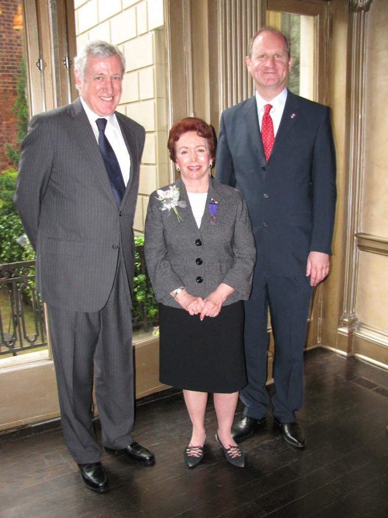 Joanne Silver, Ambassador Vimont, Honorary Consul Michael Scullin
