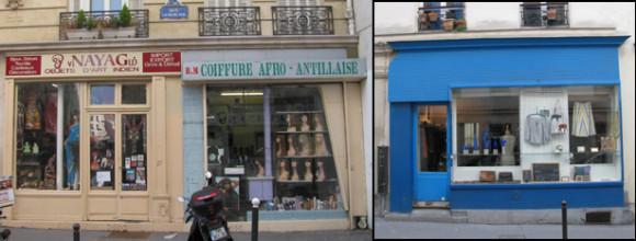 Batignolles Quarter, Paris, 17th arr. GLK