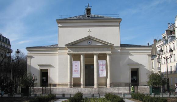 Saint Marie des Batignolles. GLK