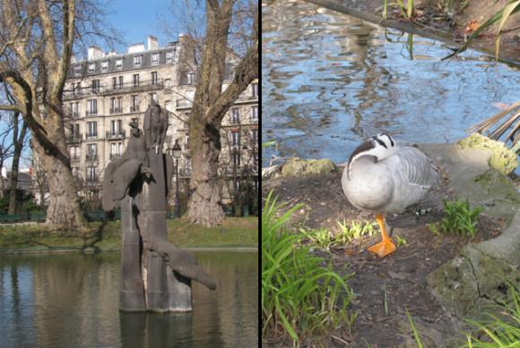Birds in the Square des Batignolles. GLK