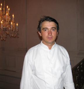 David Angelot at Cristal Room Baccarat. Photo GLK.