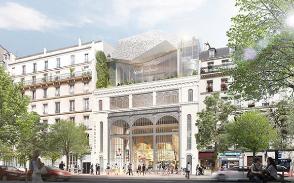 Reinventing Paris project Etoile Voltaire (c) Olivier Palatre Architects