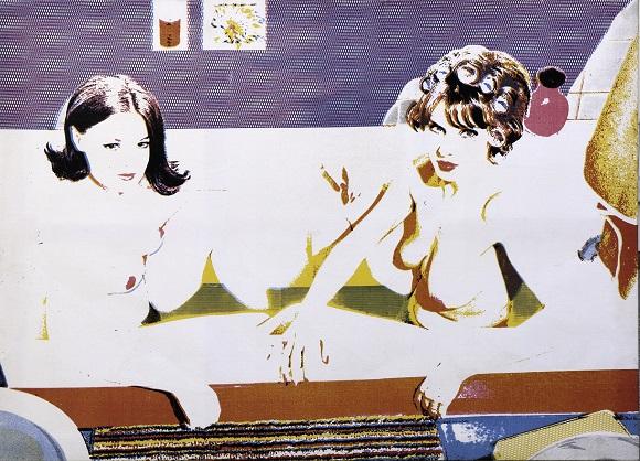 Gaby d'Estrées (1965), Alain Jacquet.Courtesy Comité Alain Jacquet et Galerie GP & N Vallois, Paris. © Comité Alain Jacquet – ADAGP, Paris 2015.