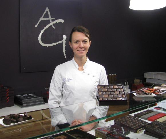 Aline Géhant, chocolatier. (c) GLKraut.