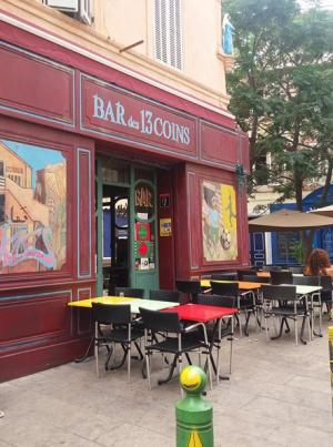 Bar des 13 Coins, Le Panier, Marseille