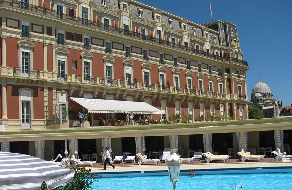 Biarritz hotels Hotel du Palais. GLK
