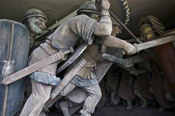 Combat Gallery, Muséo Parc d'Alesia ©  C. Jachymiak