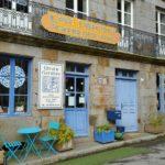 Café Librairie Gwerzienn, Becherel, Brittany. L. Napoli