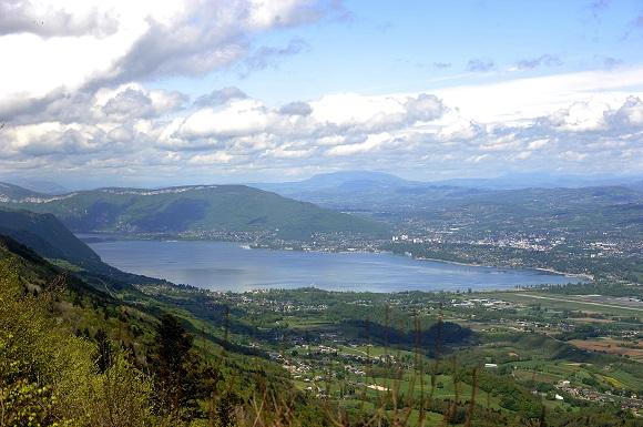 Chambery - Aerial view of Lake Bourget - Photo G Garofolin Chambery Tourisme & Congres