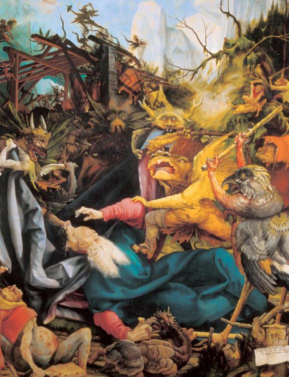 "Detail from ""The Issenheim Altarpiece."" © Colmar Tourist Office."