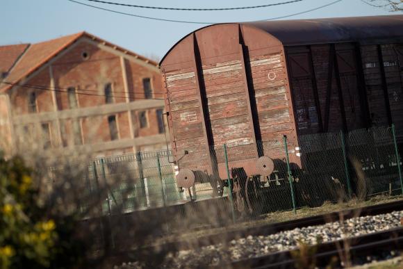 Remembrance wagon, Camp des Milles