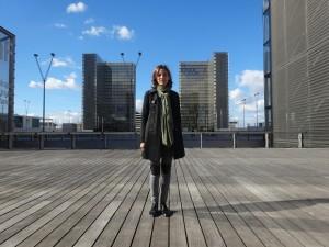 Caroline Hoarau-Beauval - cofounder of ArchiTrip at Bibliotheque Francois Mitterrand-GLK