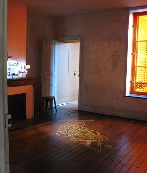 Inside La Maison des Ailleurs.