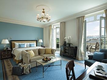 Premier Room At Th Shangri La Hotel Paris Photo Markus Gortz