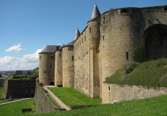 The fortress of Sedan. Photo GLK.