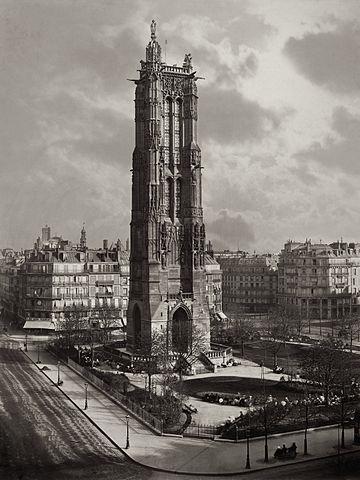 La Tour St Jacques ca. 1867. Metropolitan Museum of Art.