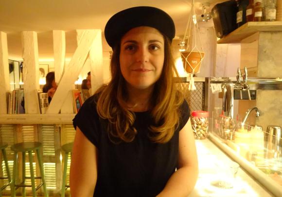 Marie of Lavomatic, Paris cocktail bar.