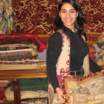 At the Flea Market: Leyla's Antique Textiles