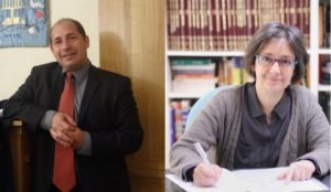 Rabbi Tom Cohen and Rabbi Pauline Bebe