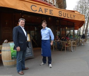 Robert and Romain Vidal, Le Sully. Photo GLK.