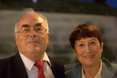 Georges and Monique Lucenet, authors of La Seine Impressionniste. Photo Brandon Eckhoff.