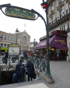 Terminus Nord, Gare du Nord. Photo GLK.